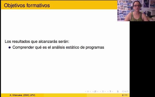 Introducción al análisis estático