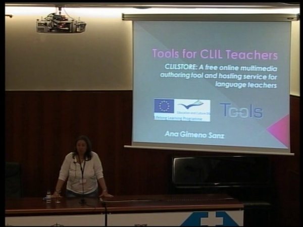 Ana Gimeno Sanz:  Supporting lifelong language learning through Clilstore