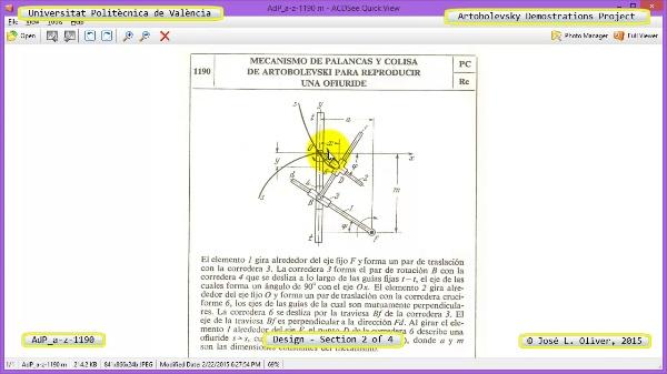 Creación Virtual Mecanismo a-z-1190 con Solidworks - 2 de 4