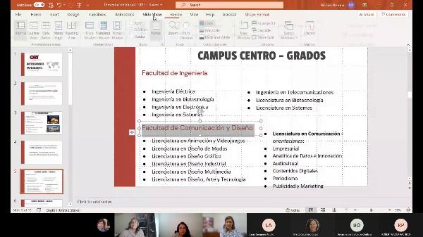 Universidad Ort (Montenvideo - Uruguay) Presentación