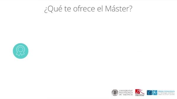 Presentación Master en Comunicaciones