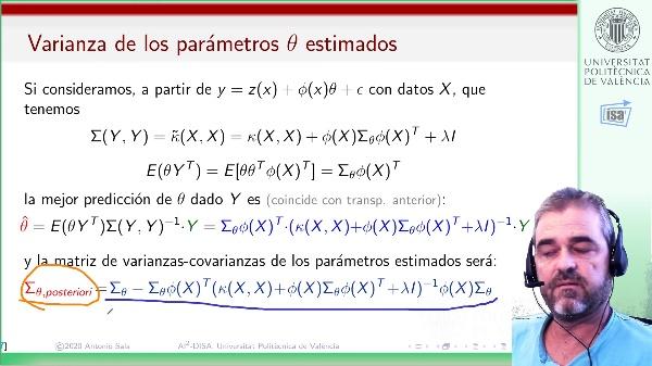 Modelos semiparamétricos (Kernel+regresores): clase Matlab