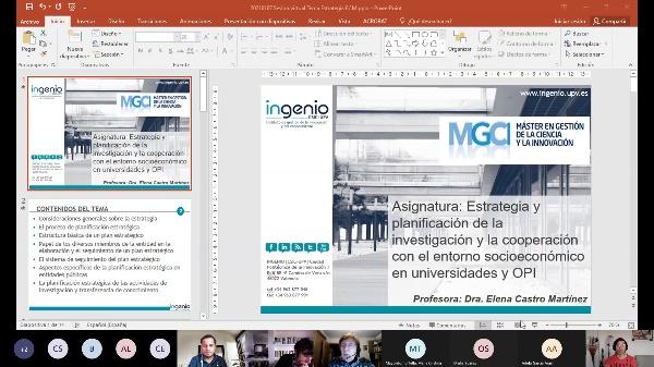 Sesión Módulo 5 - Prof. Elena Castro Martínez - 7 enero 2021