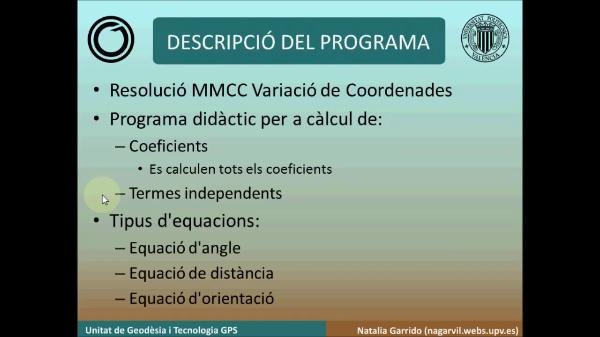 Variació de coordenades amb Matlab