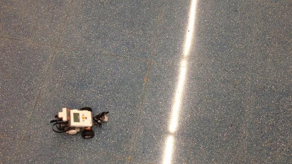 Lego MindStorms Trayectoria en Infinito Buena