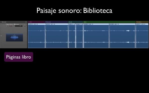 Paisaje Sonoro - Biblioteca