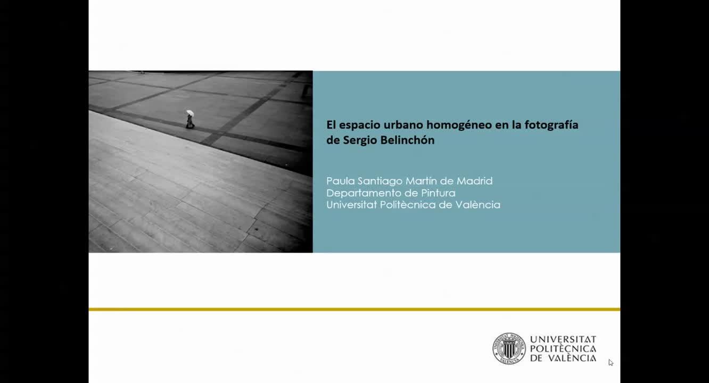 EL ESPACIO URBANO HOMOGÉNEO EN LA FOTOGRAFÍA DE  Sergio Belinchón
