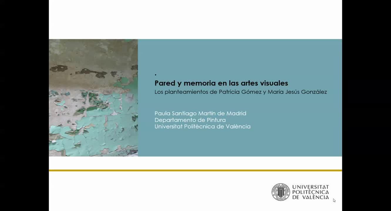 PARED Y MEMORIA EN LAS ARTES VISUALES